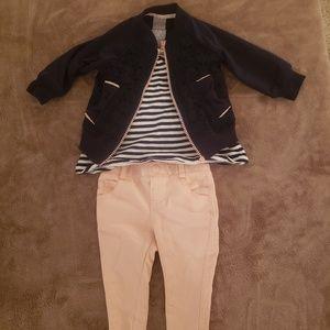 Baby Girl Tahari Three Piece Outfit